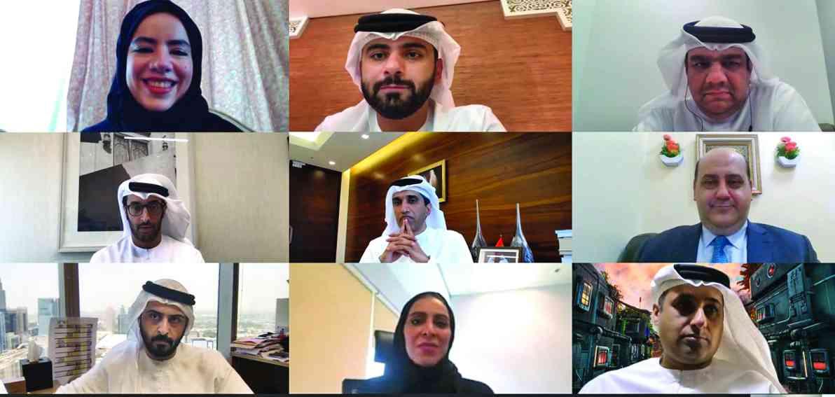 منصور بن محمد يطّلع على مخرجات «دبي للتميز الحكومي لإدارة كورونا»